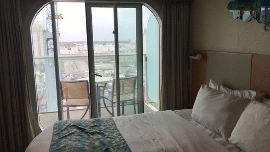 Allure of the Seas: Cabine externa com varanda