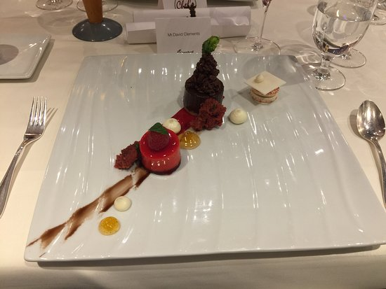 Carnival Splendor: Chef's Table Dinner