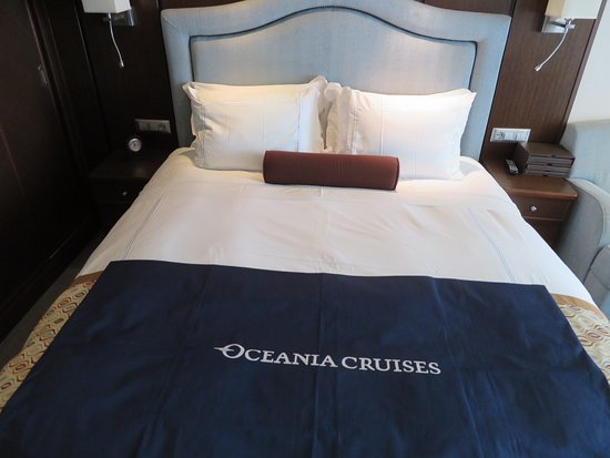Marina: Beds in the staterooms are extremely comfortable
