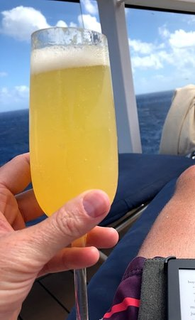 Celebrity Equinox: The Premium Drink package was perfect for those morning mimosas!