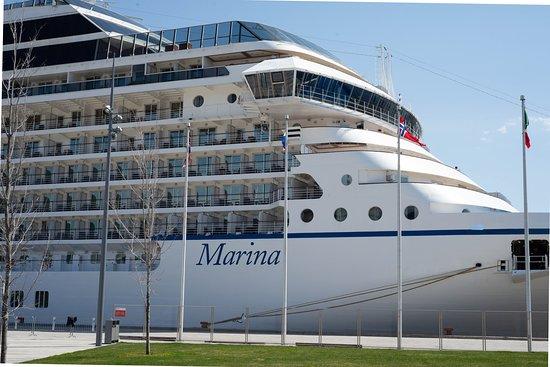 Oceania's Marina:  what a beautiful ship!