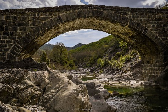 Grevena, Greece: Gavou old stone bridge