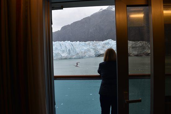 Ruby Princess: Great cabin with a super view!