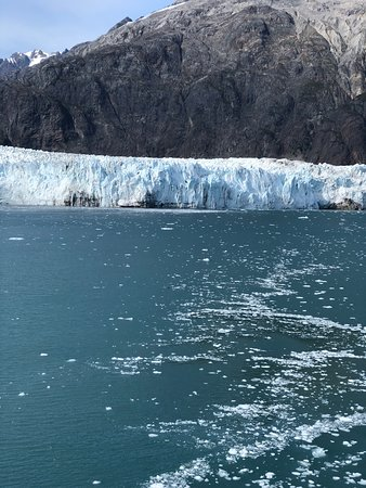 Ruby Princess: Taken from stateroom balcony while sailing up Glacier Bay.