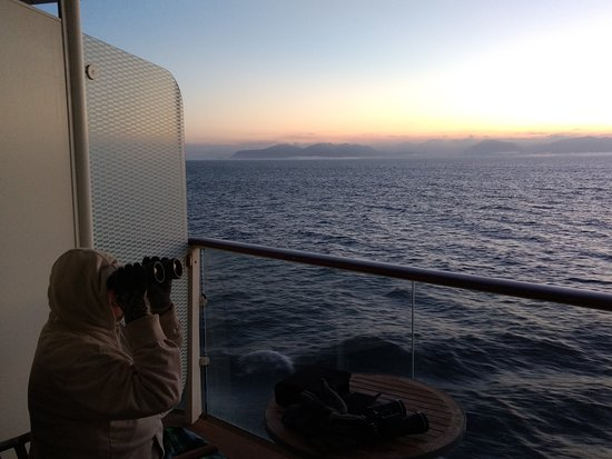 Celebrity Solstice: First morning at sea