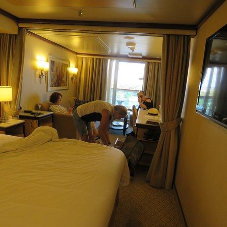Royal Princess: Our mini suite