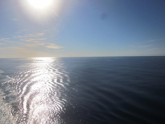 Emerald Princess: Clear sailing and ocean like glass on our way back to LA.