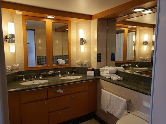 Oasis of the Seas: Our Bathroom!