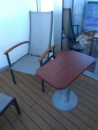 Nieuw Amsterdam: Cabin 4155 balcony