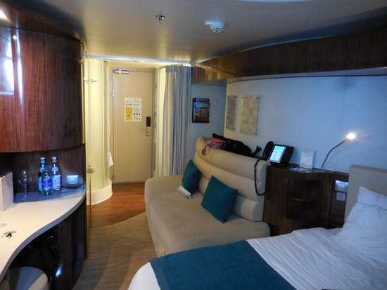 Norwegian Epic: Our balcony cabin,