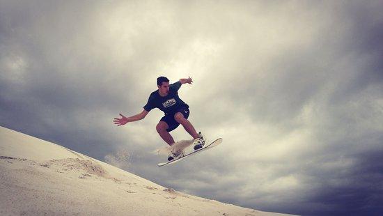 Sandboarding Cape Town: airtime