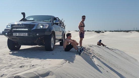 Sandboarding Cape Town: pic2