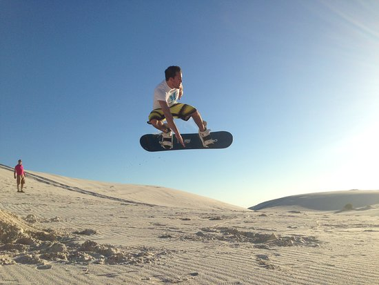 Sandboarding Cape Town: hello