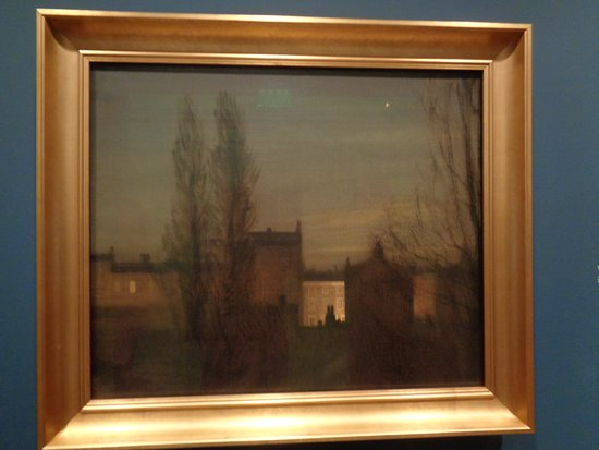 """George Clausen, """"In the Small Hours""""."""