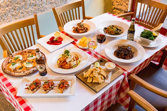 All your favourite traditional Italian style dishes.