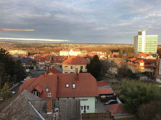 Heviz, Hungary: Весна в Хевизе '19. Пар над озером.