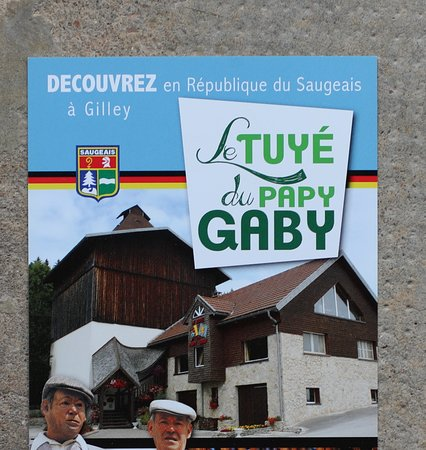 Le flyer du tuyé du papy Gaby