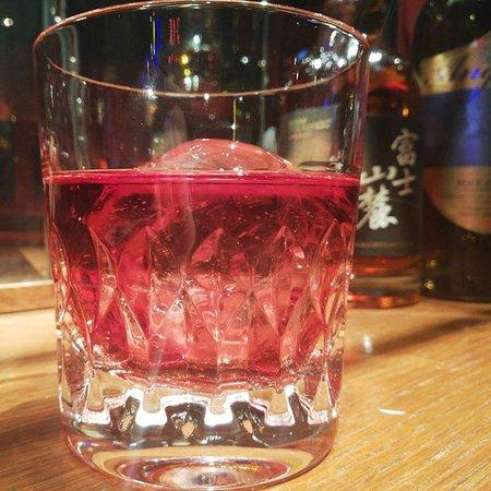 Angel Blueberry Club: ウイスキーのブルーベリーワイン割り