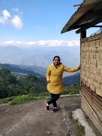 Tinchuley Village: Teesta Rangeet View Point lovers meet view point 7th mile view point , Darjeeling .