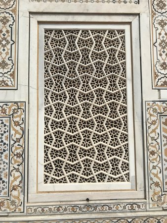 Moti Bagh intricate work 5