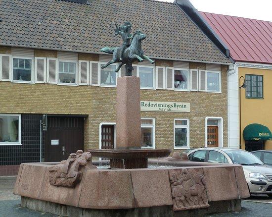 Statyn ''Hästbrunnen''