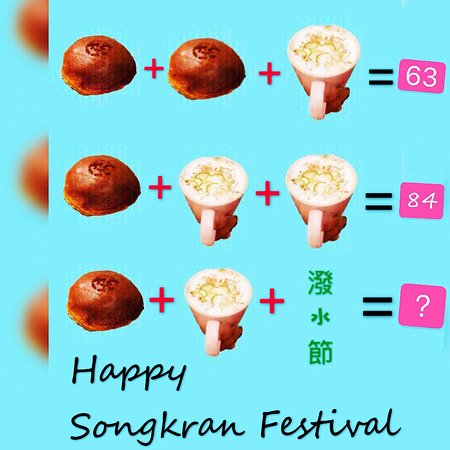 Happy Songkran Festival #workinghousecafe
