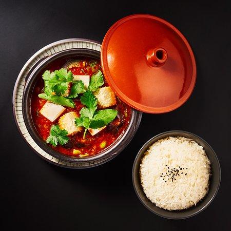 Szechuan Tofu Hot Pot