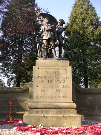 Royal Welch Fusiliers War Memorial (Wrexham)