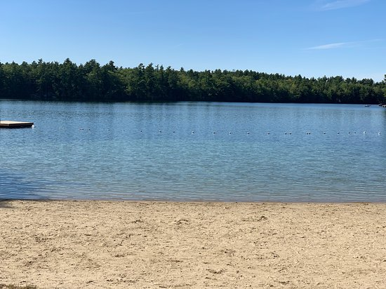 Beach - Picture of Loon's Haven Family Campground, Naples - Tripadvisor