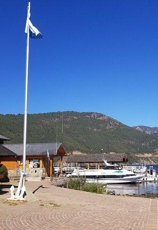 Lake Lacar Port side view