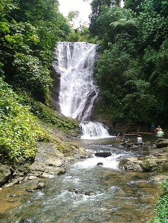 "Waterfall in Quepos, Londres ""Los Campesinos"""