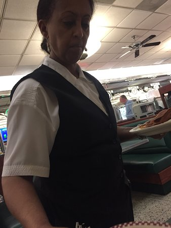 Double T Diner: Olga...always pleasant and perky