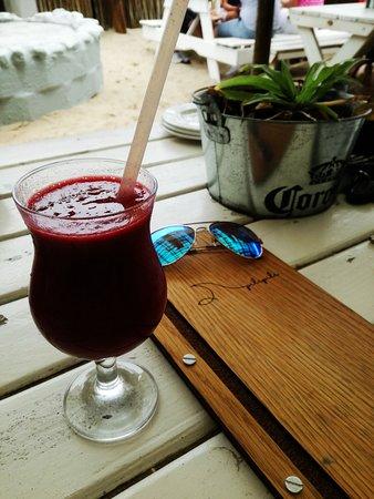 Pili Pili Beach Restaurant: Strawberry Daiquiri