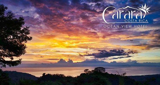 Carara Ocean View Hotel: Magical Sunsets at Carara Ocean View Community