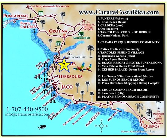Carara Ocean View Hotel: Located in the BEST area of Costa Rica, The Carara Nature Reserve and Luxury Lifestyle Zone