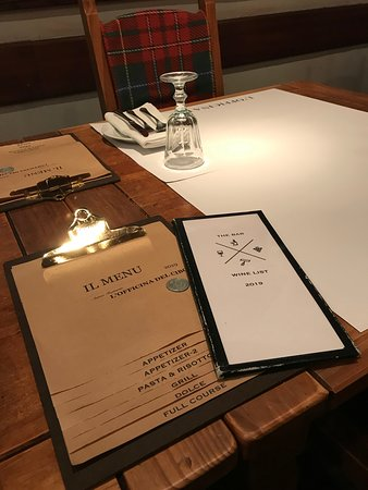 Food menu & Drink menu