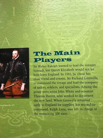 Fort Raleigh National Historic Site: Sir Walter Raleigh