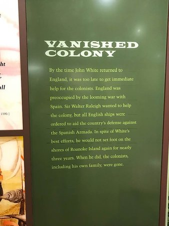 Fort Raleigh National Historic Site: Vanished!