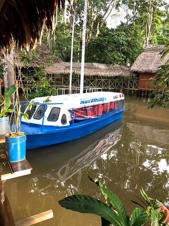 Iquitos Amazon Region, Peru: The transport speedboats for Muyuna Amazon Lodge