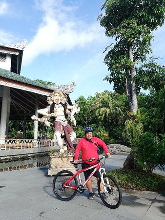 Cycling arround ubud