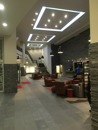 Great lobby.