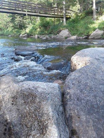 Saint-Romain, Canada: Rivière sauvage