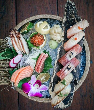 Salvaje Restaurant: Exotic presentation