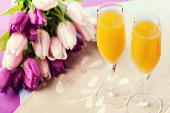 1906 Lodge: Enjoy complimentary bottomless mimosas!