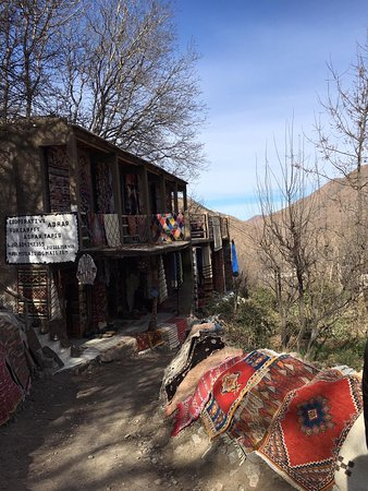 Day tour in Agafay dessert and 3 Valleys Atlas Mountains With Locals.: bedouins