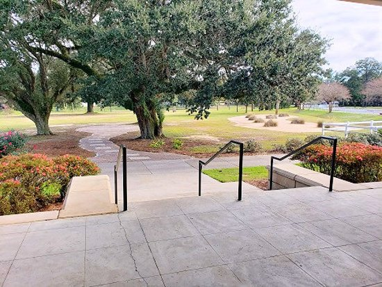 Osceola Municipal Golf Course: view from clubhouse