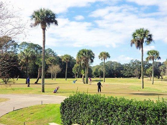 Osceola Municipal Golf Course: practice green