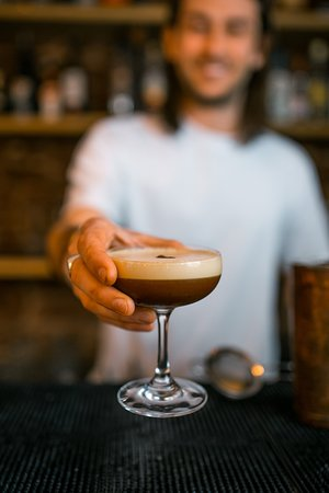 Carribean coffee martini