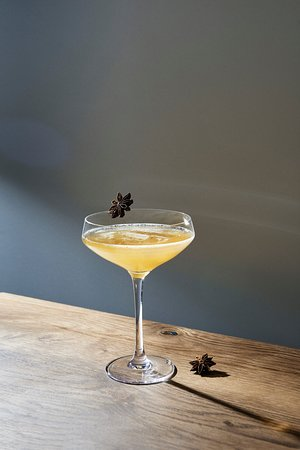 Coctails with Vietnamese herbs.
