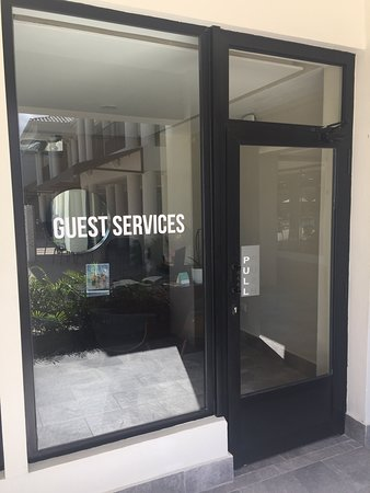 Nice staff and Bad guest services